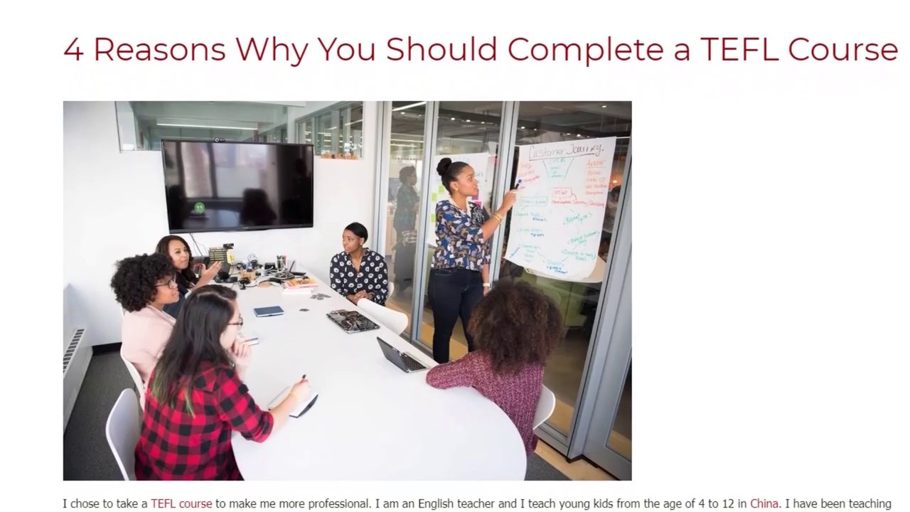 4 Reasons Why You Should Complete a TEFL Course | ITTT TEFL BLOG