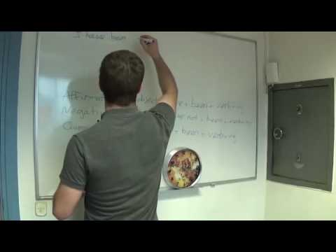 English Lesson – Present Perfect Continuous