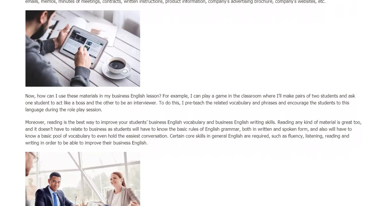 The Difference Between Business English and General English For EFL Teachers | ITTT TEFL BLOG