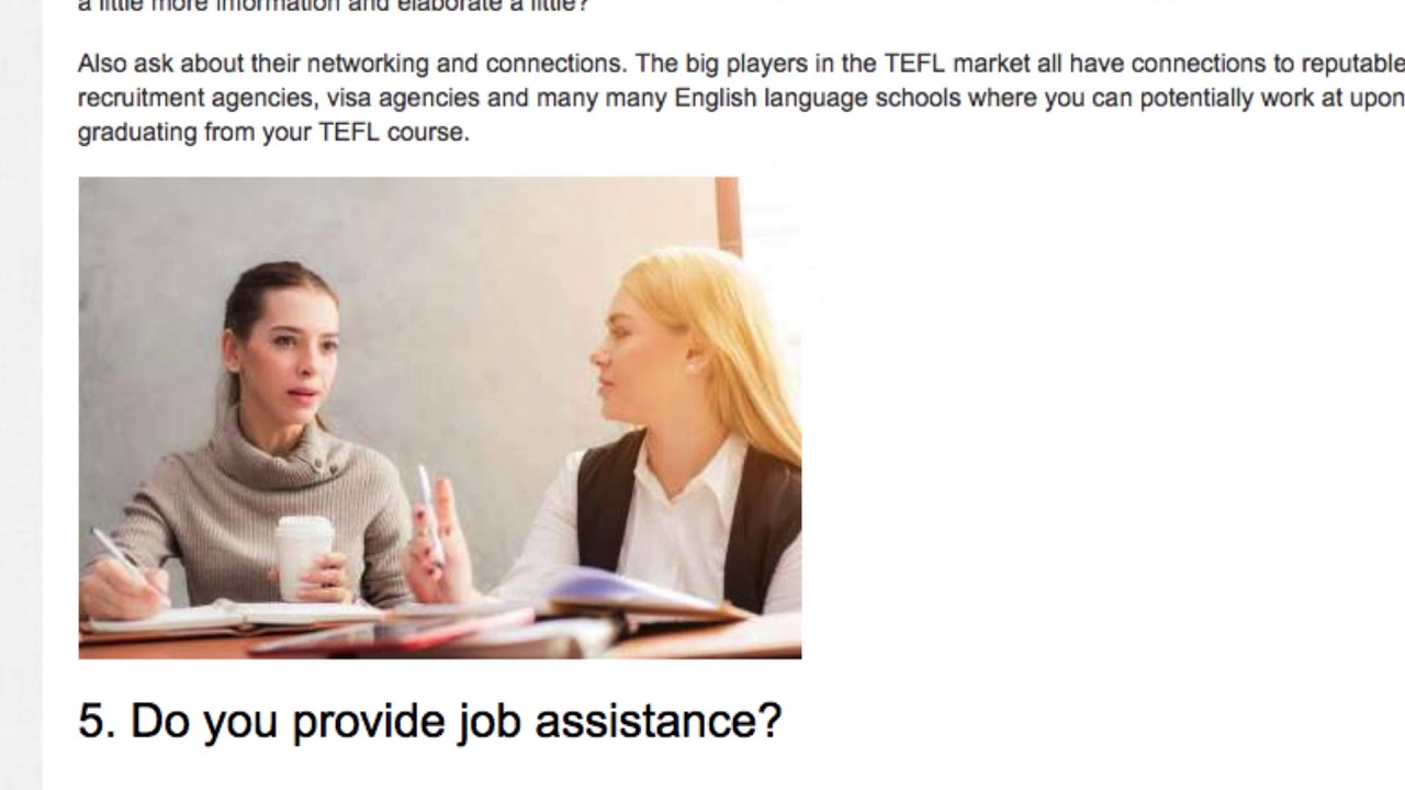 10 Questions You Need to Ask Before Enrolling In a TEFL Course
