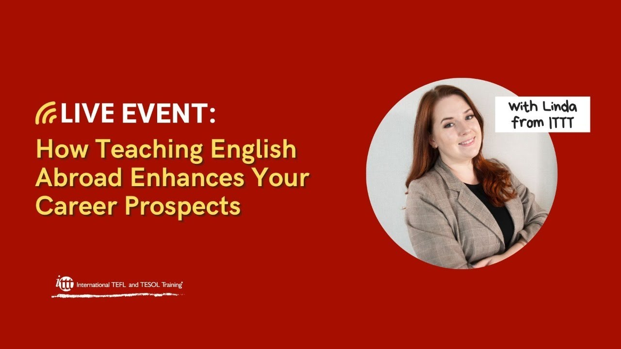 How Teaching English Abroad Enhances Your Career Prospects