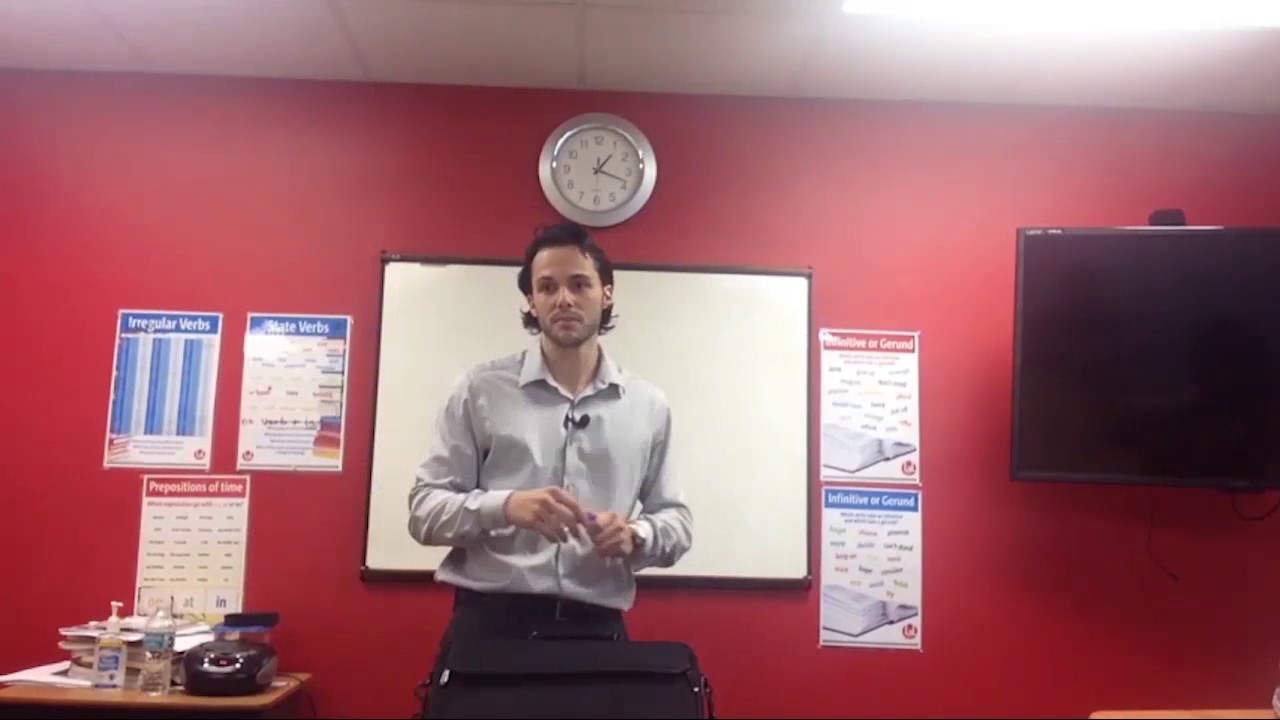 OTP English Lesson – Richard – Warm Up
