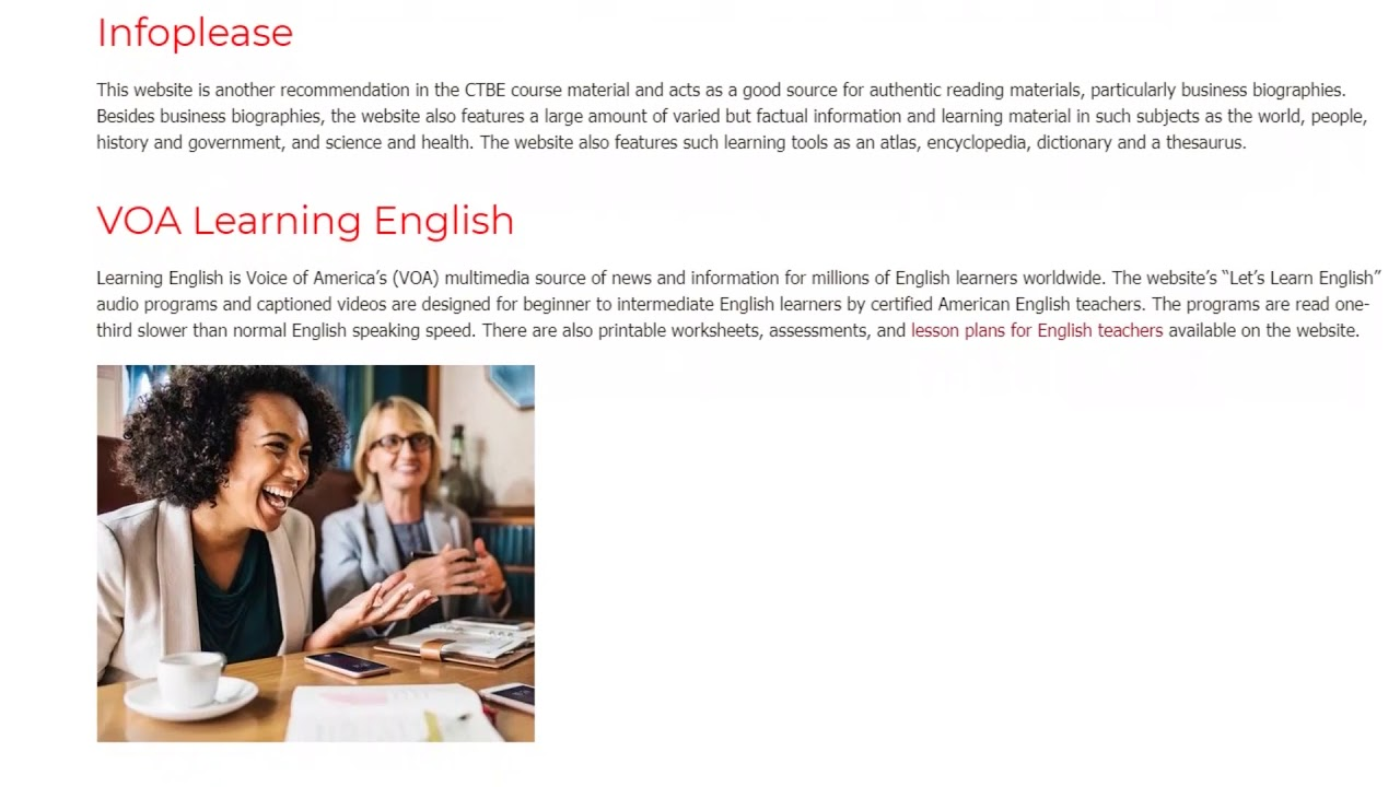 7 Great Resources for Teaching Business English | ITTT | TEFL Blog
