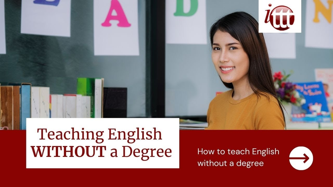 Teaching English without a Degree – This is how it's Possible