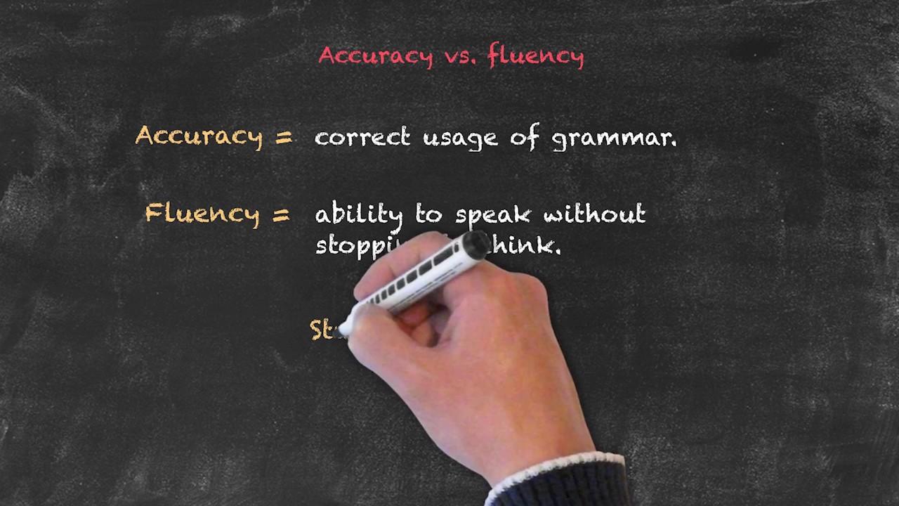 Productive and Receptive Skills in the EFL Classroom – Accuracy vs. Fluency