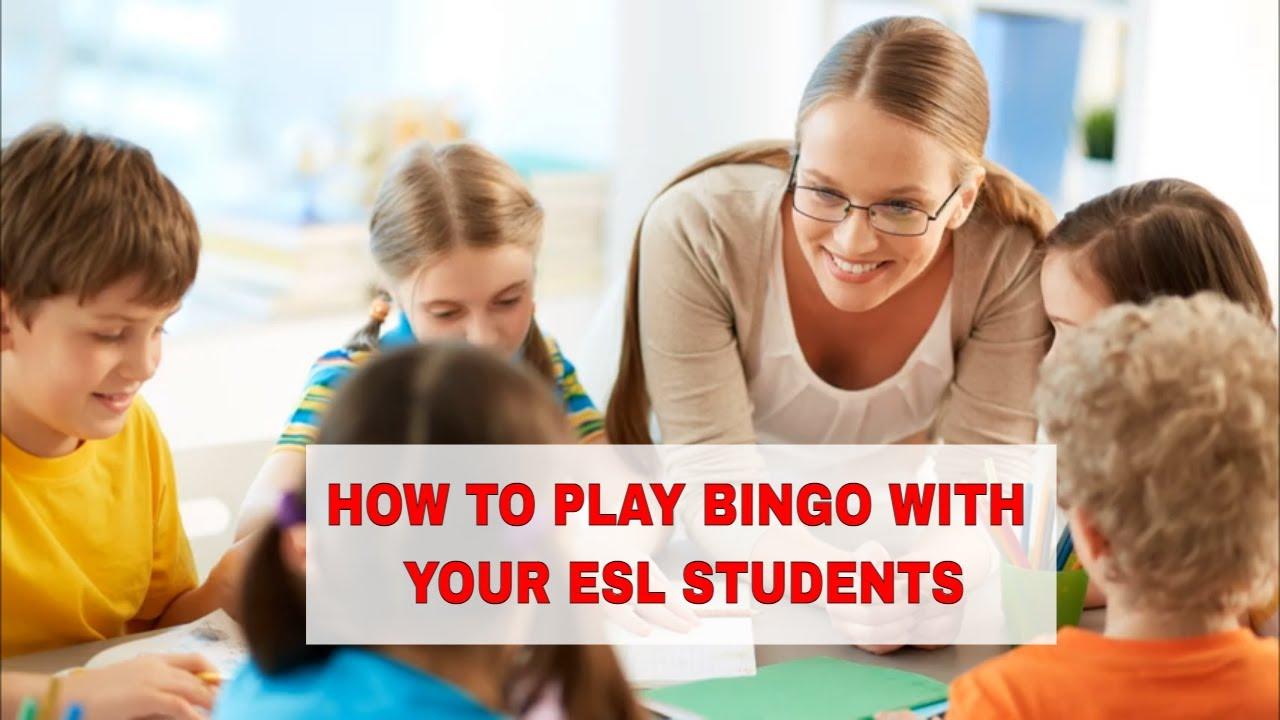 Fun ESL Activities: BINGO | ITTT | TEFL Blog