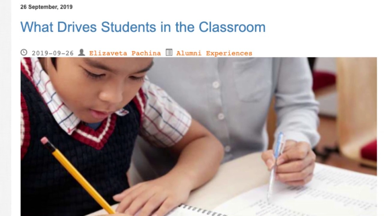 What Drives Students in the Classroom | ITTT TEFL BLOG