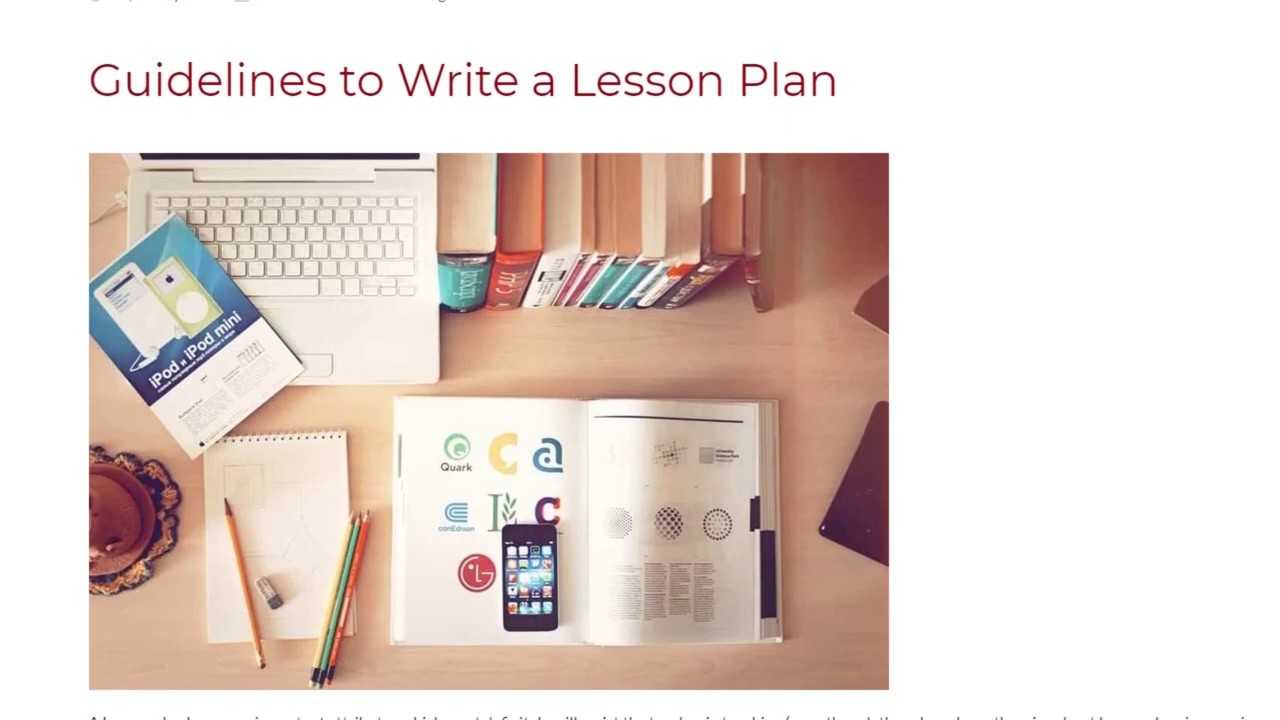 Guidelines to Write a Lesson Plan | ITTT TEFL BLOG