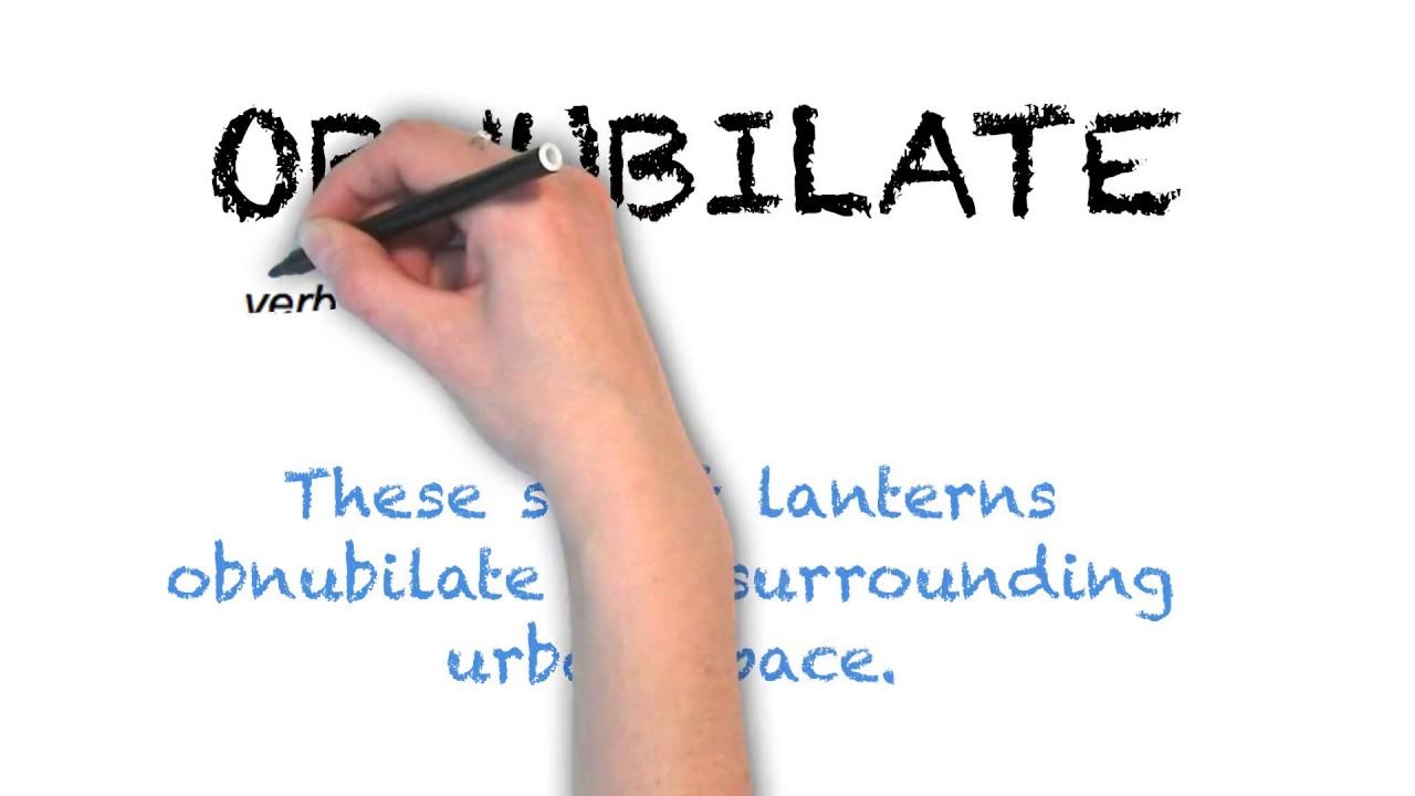 How To Pronounce 'OBNUBILATE'   Ask Linda!   Pronunciation