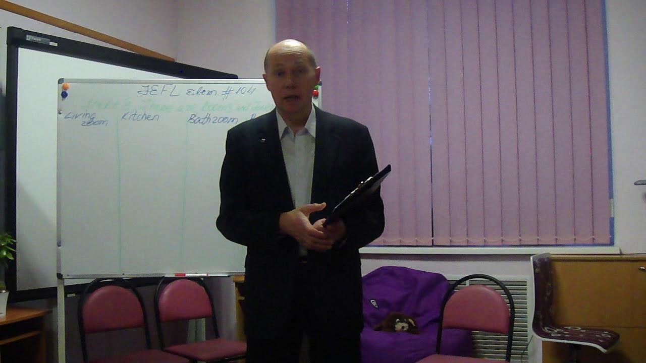 TESOL TEFL Reviews – Video Testimonial – Valeriy Part. 1