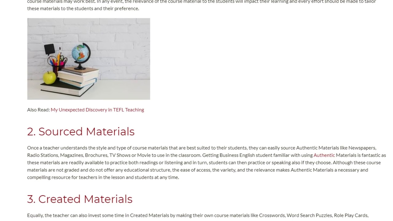 4 Best Ways to Choose Business English Course Materials | ITTT TEFL BLOG