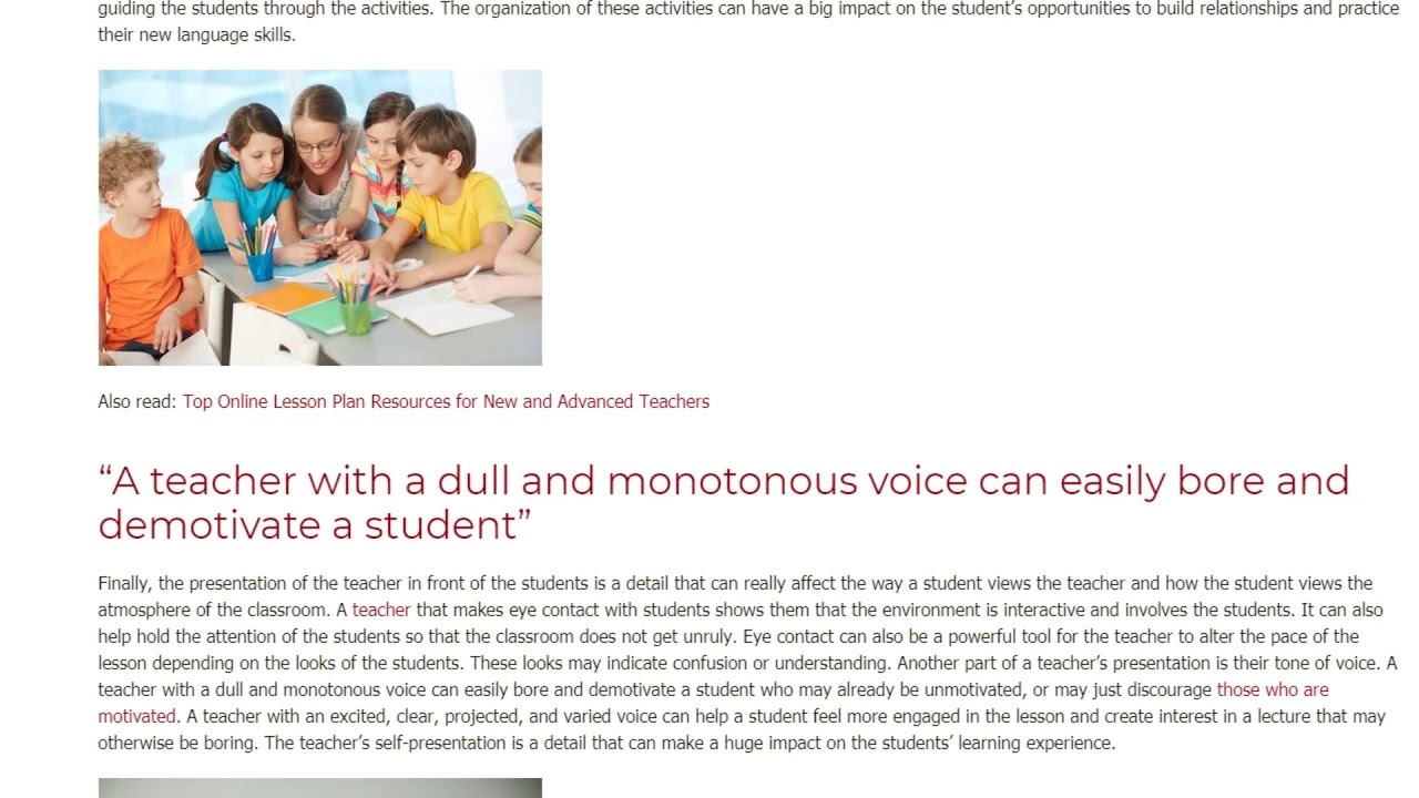 What My TEFL Course Taught Me About Classroom Management   ITTT TEFL BLOG