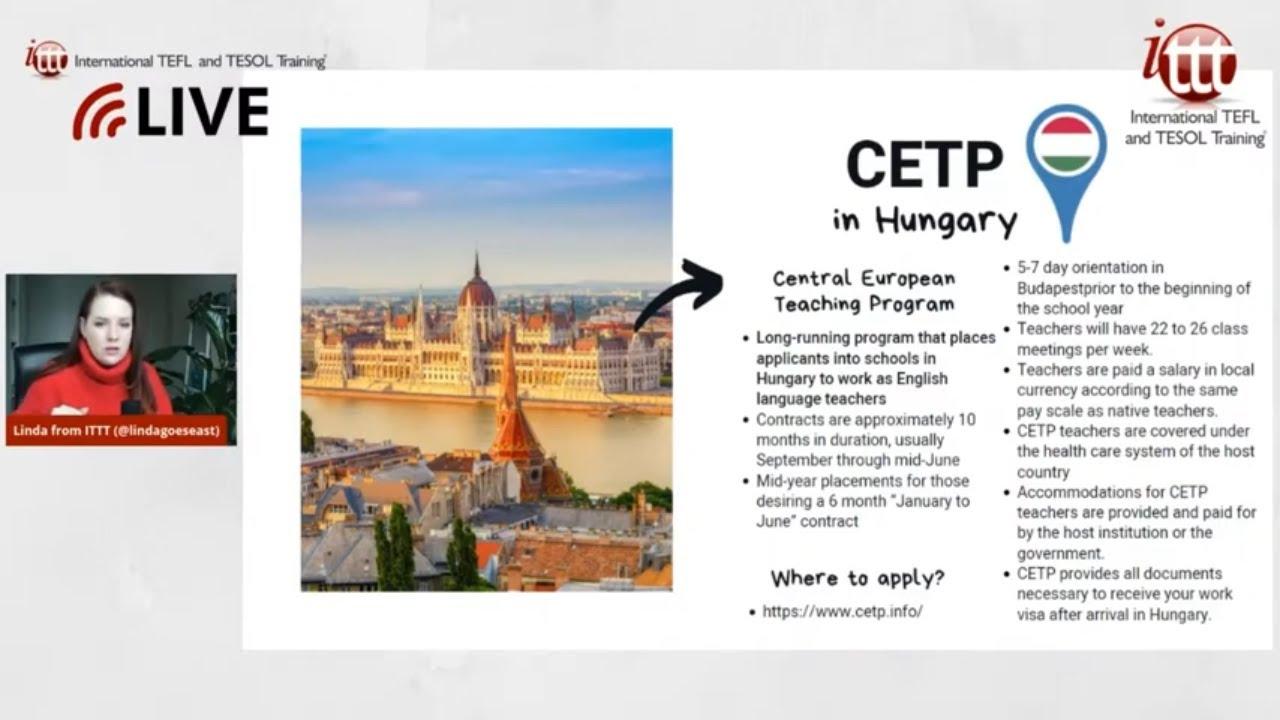 Teaching English Abroad: CETP Program in Hungary
