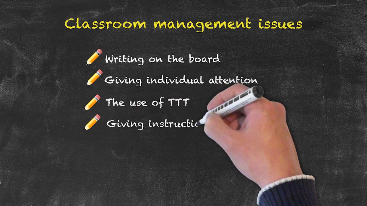 Classroom Management for Teaching English as a Foreign Language – Common Issues