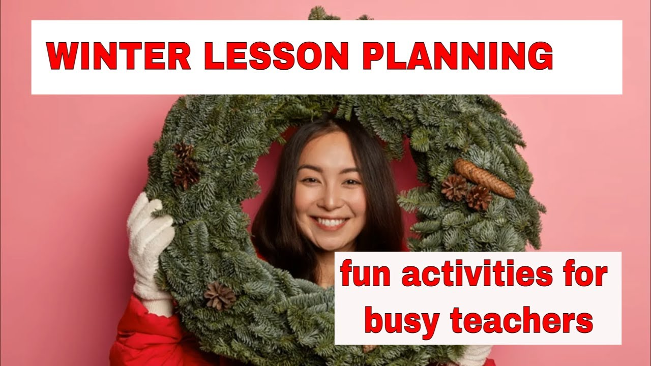 Lesson Planning: Winter English Activities – Making Christmas or New Year's Cards