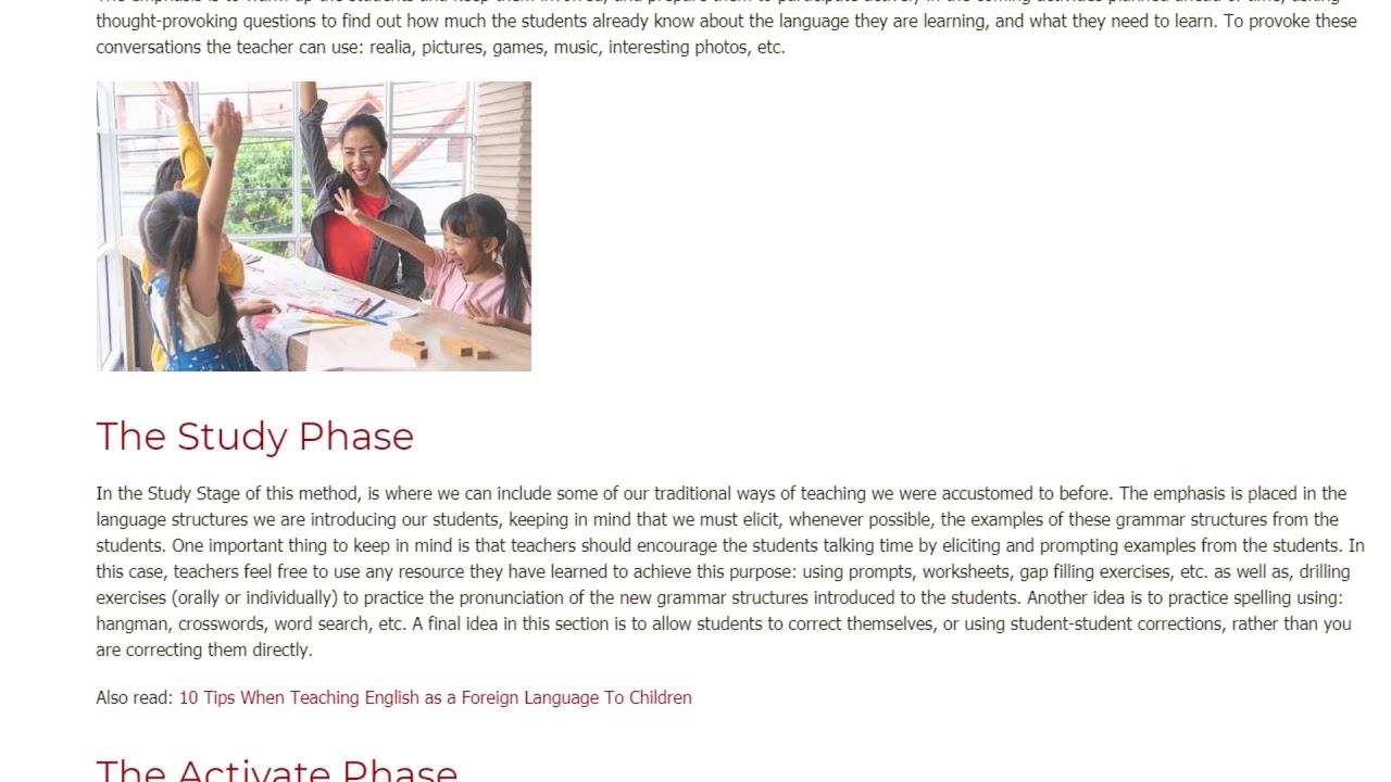 What is the best thing I have learned from my TEFL/TESOL course   ITTT TEFL BLOG