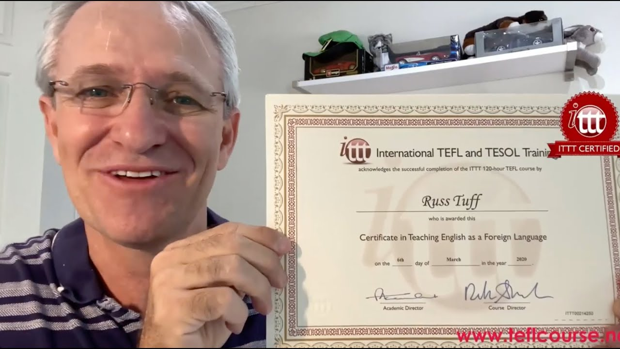 TESOL TEFL Reviews – Video Testimonial – Russ