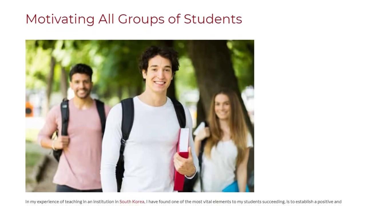 Motivating All Groups of Students | ITTT TEFL BLOG