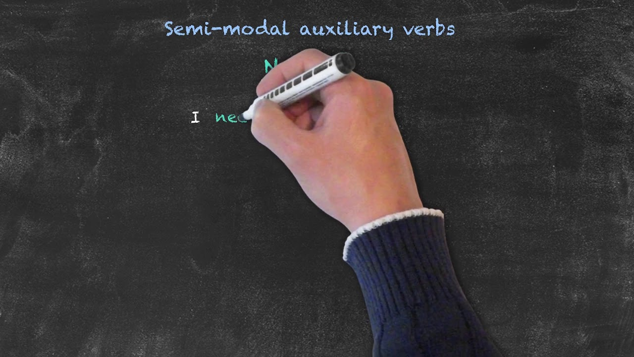 Semi-Modal Auxiliary Verbs   Modals and Passive Voice