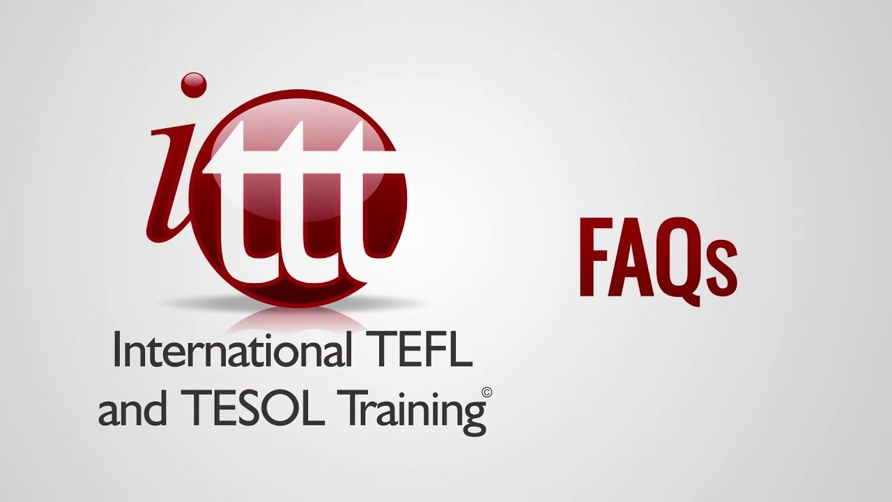 ITTT FAQs – How do I become a TEFL trainer?