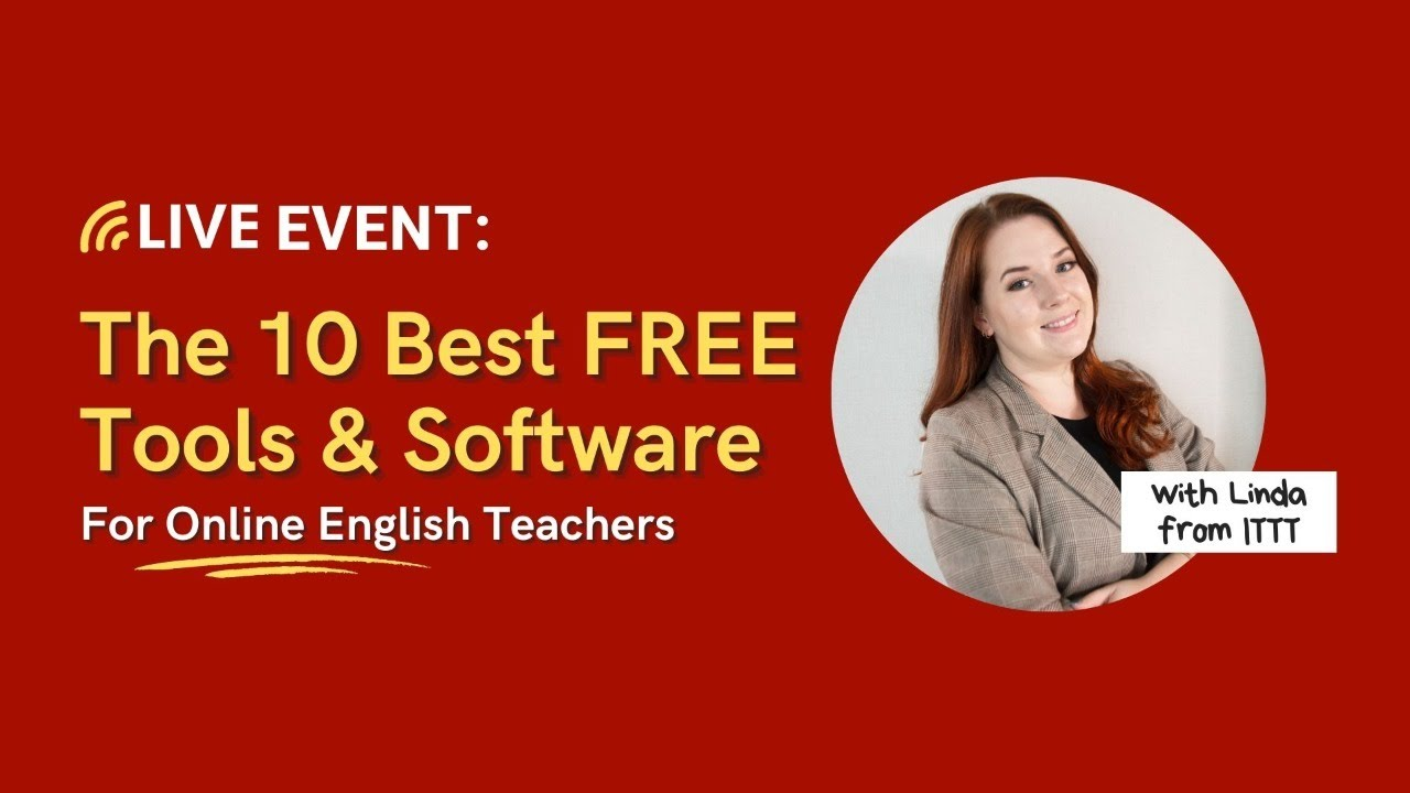The 10 best FREE tools and software for Online English Teachers