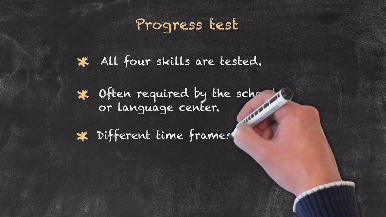 Evaluation and Testing of Students – Diagnostic & Progress Test
