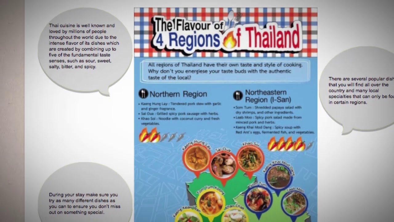 What are the Best Regional Foods of Thailand?