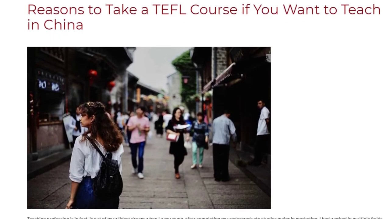 Reasons to Take a TEFL Course if You Want to Teach in China   ITTT TEFL BLOG
