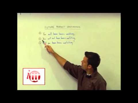English Grammar – Future Perfect Continuous – Structure – Online Teaching Course