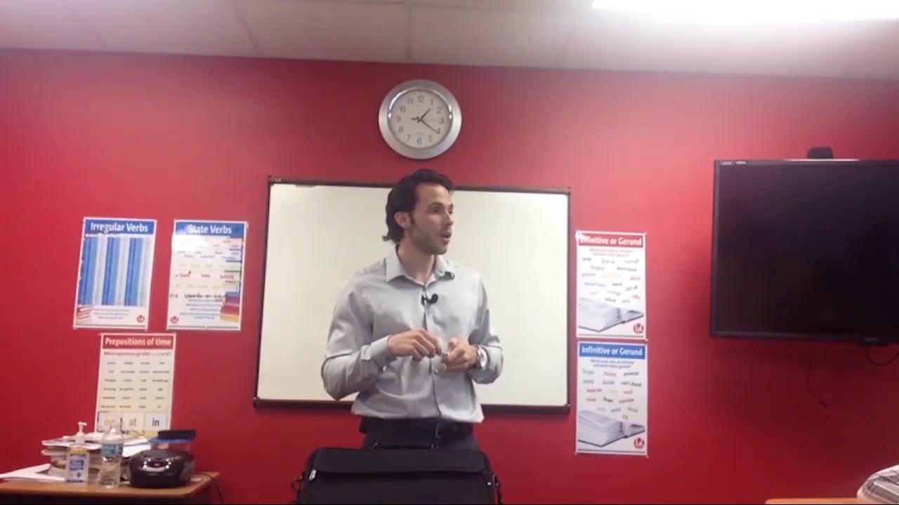 OTP English Lesson – Richard – Warm Up II
