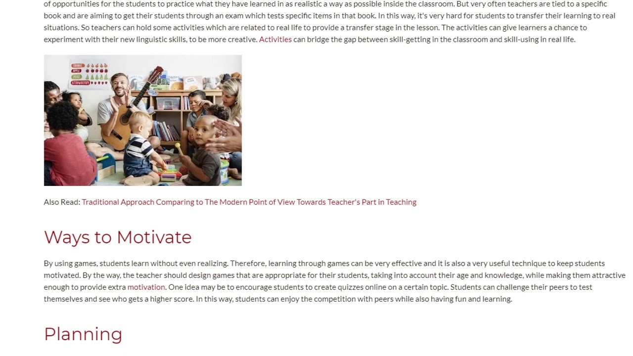 Professional Skills of a Great Teacher | ITTT TEFL BLOG