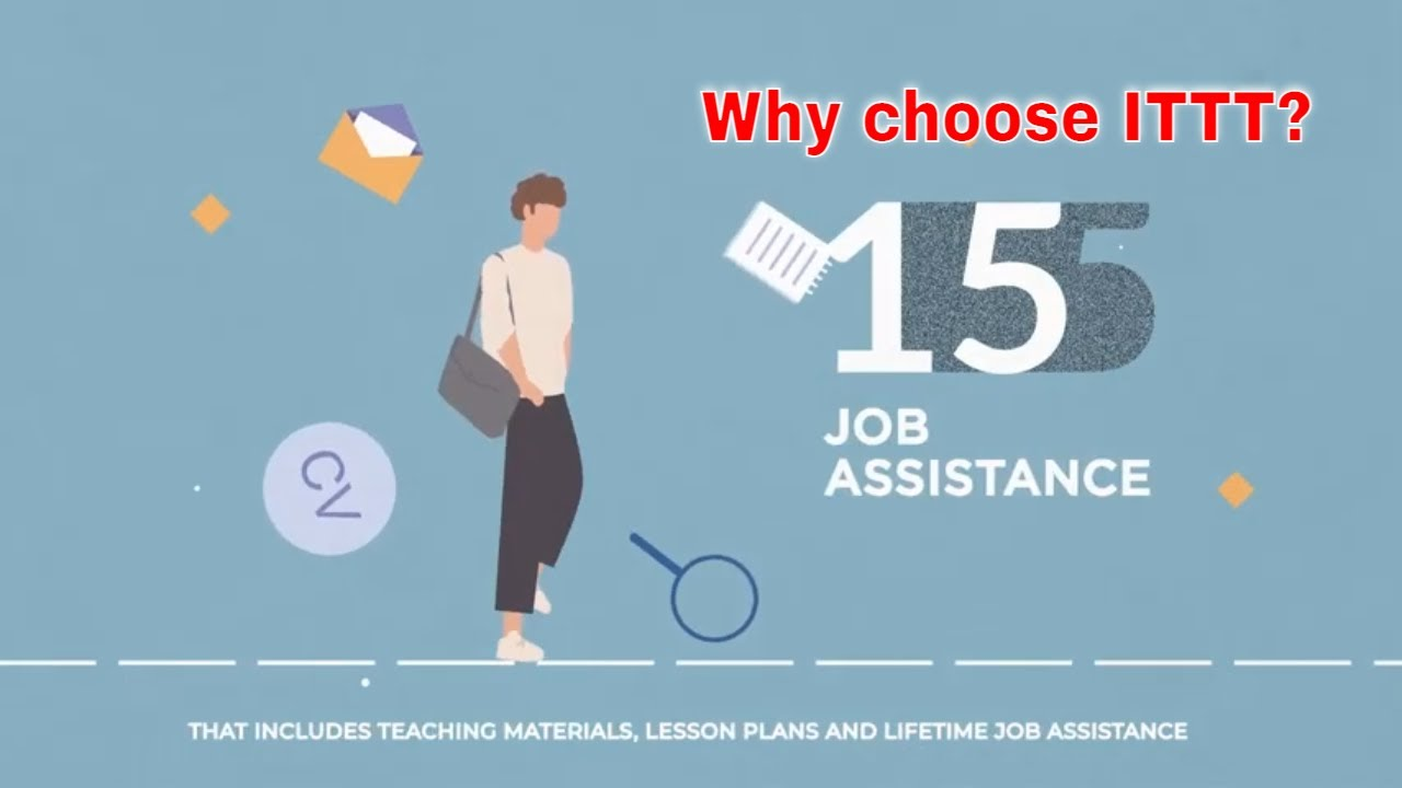 Why choose TEFL Certification with ITTT: Lifetime Job Assistance