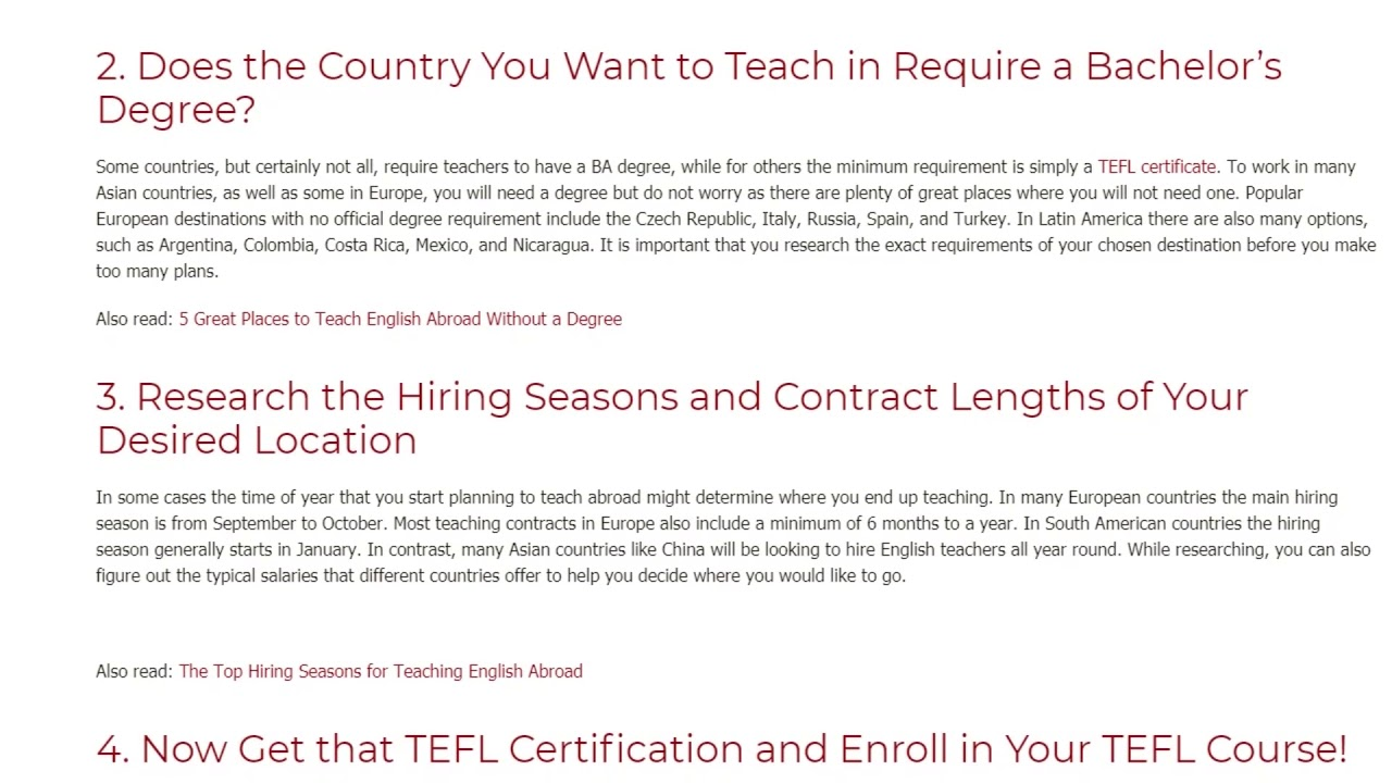 The How-To Guide to Prepare for Your Teaching Job Abroad | ITTT TEFL BLOG