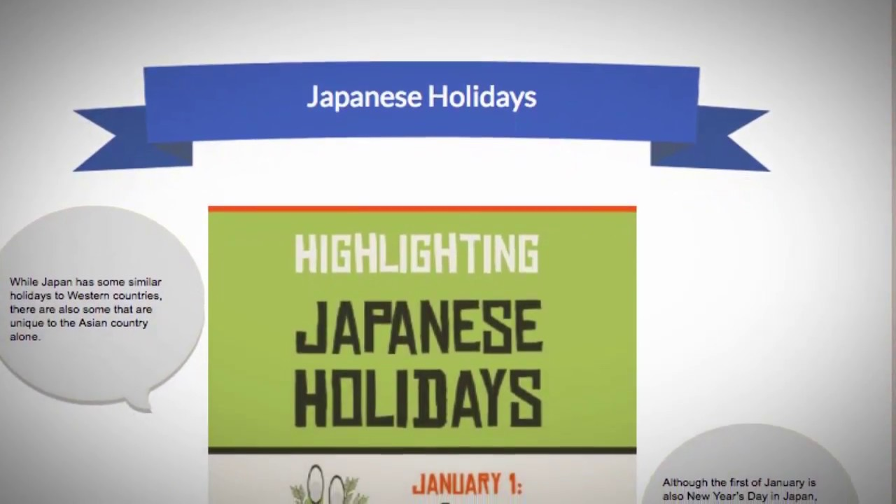 What are some interesting Japanese holidays?