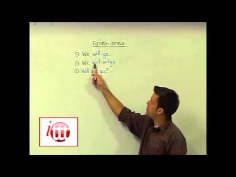 English Grammar – Future Simple – Structure – TESOL Online