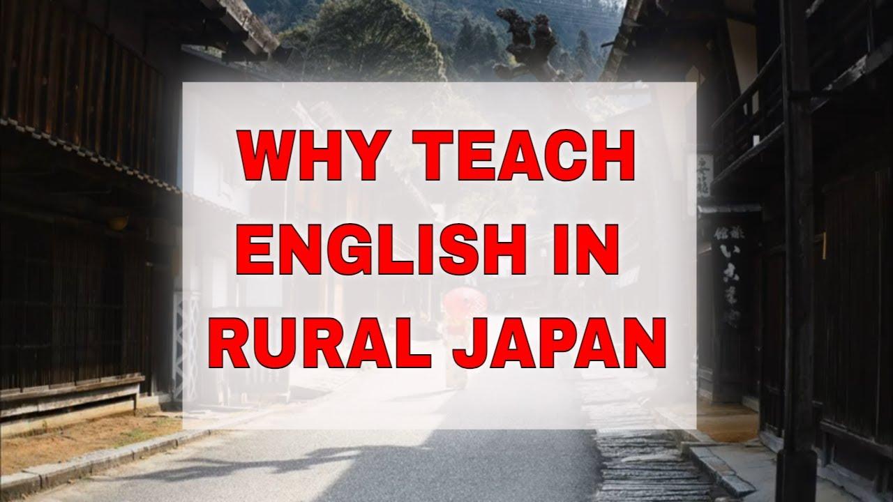 Teach English in Rural Japan – High Demand for English Teachers