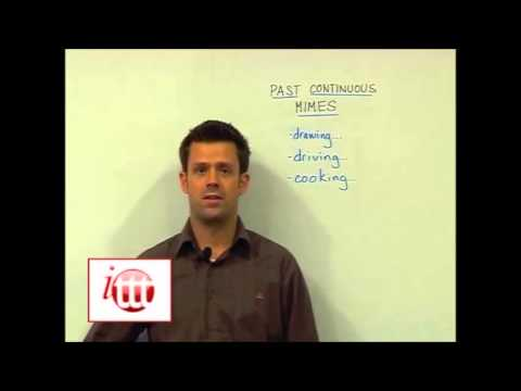 English Grammar – Past Continuous – Teaching Ideas 3 — Online TEFL Course