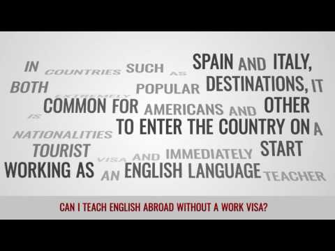 ITTT FAQs – Can I teach English abroad without a work visa?