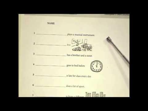 English Grammar — Present Simple — Teaching Ideas – TESL