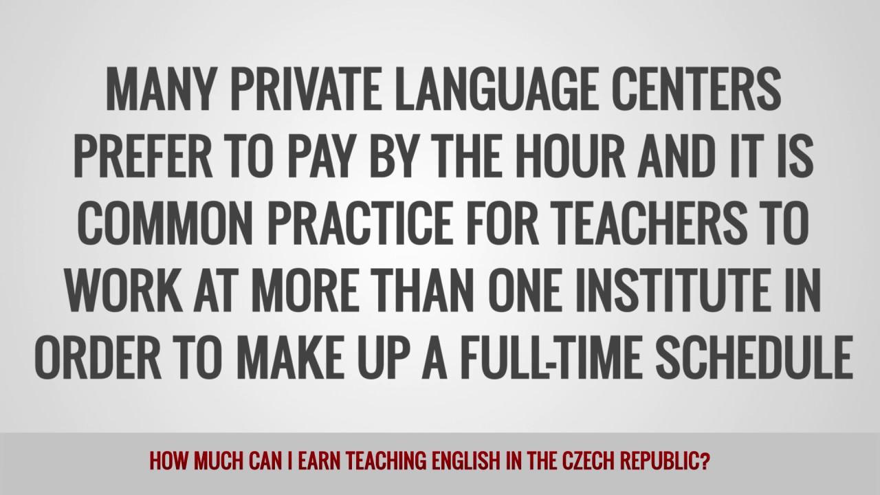 ITTT FAQs – How much can I earn teaching English in the Czech Republic?