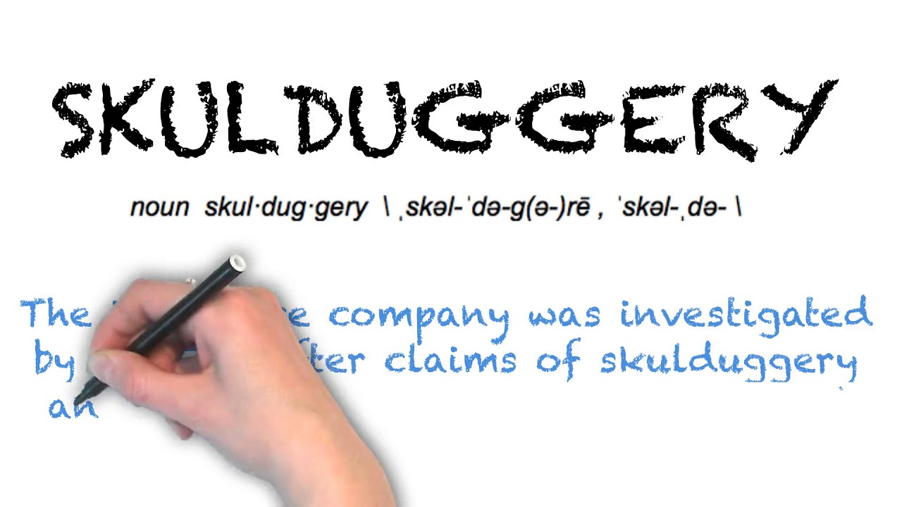 How To Pronounce 'SKULDUGGERY' | Ask Linda! | Pronunciation