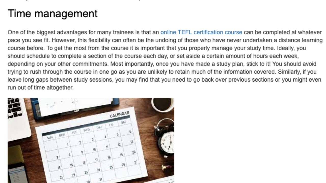 Top Tips for Taking an Online TEFL Course | ITTT TEFL BLOG