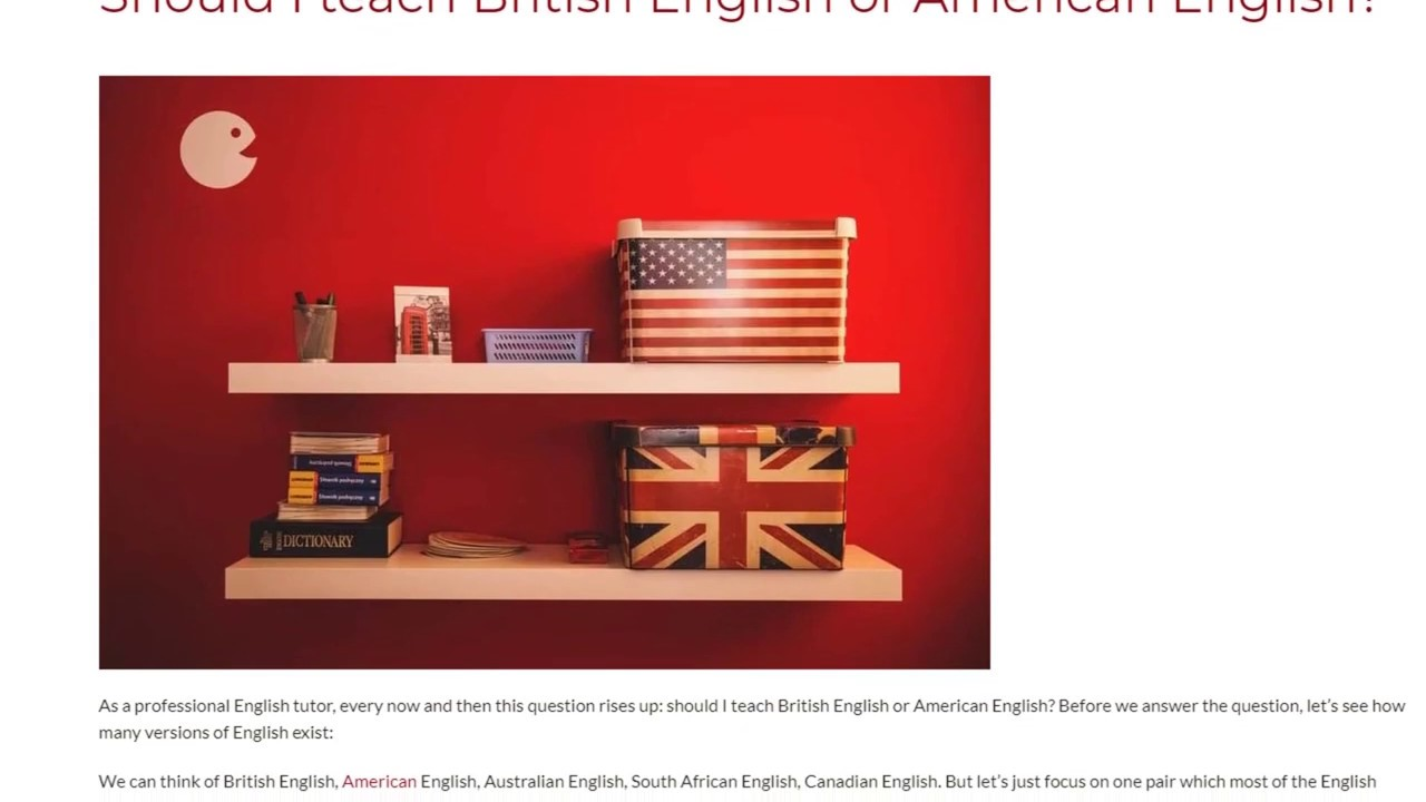 Should I teach British English or American English?   ITTT TEFL BLOG