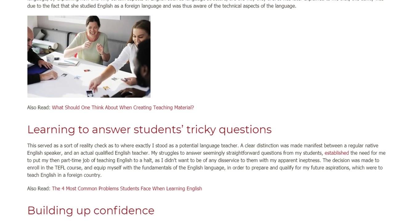 I Wish I Took This TEFL Course Earlier In My Career | ITTT TEFL BLOG
