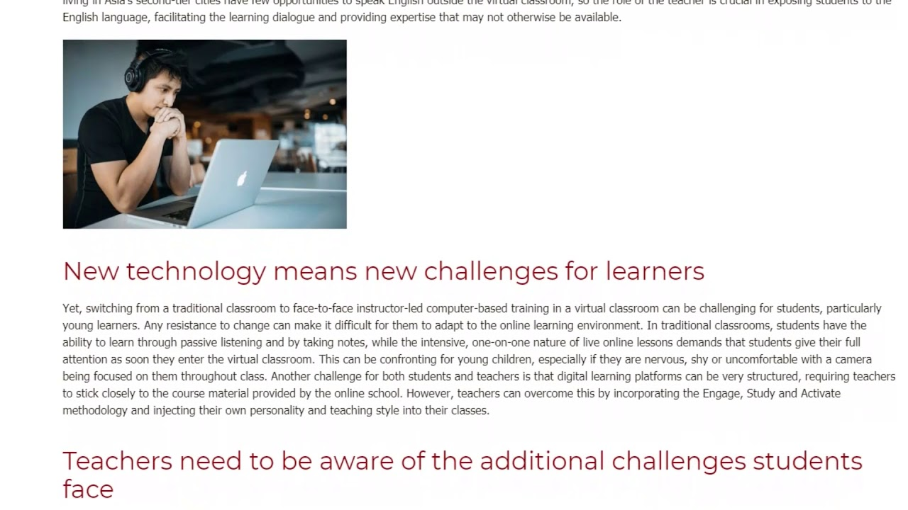 The Exciting Future of Learning English Online   ITTT TEFL BLOG