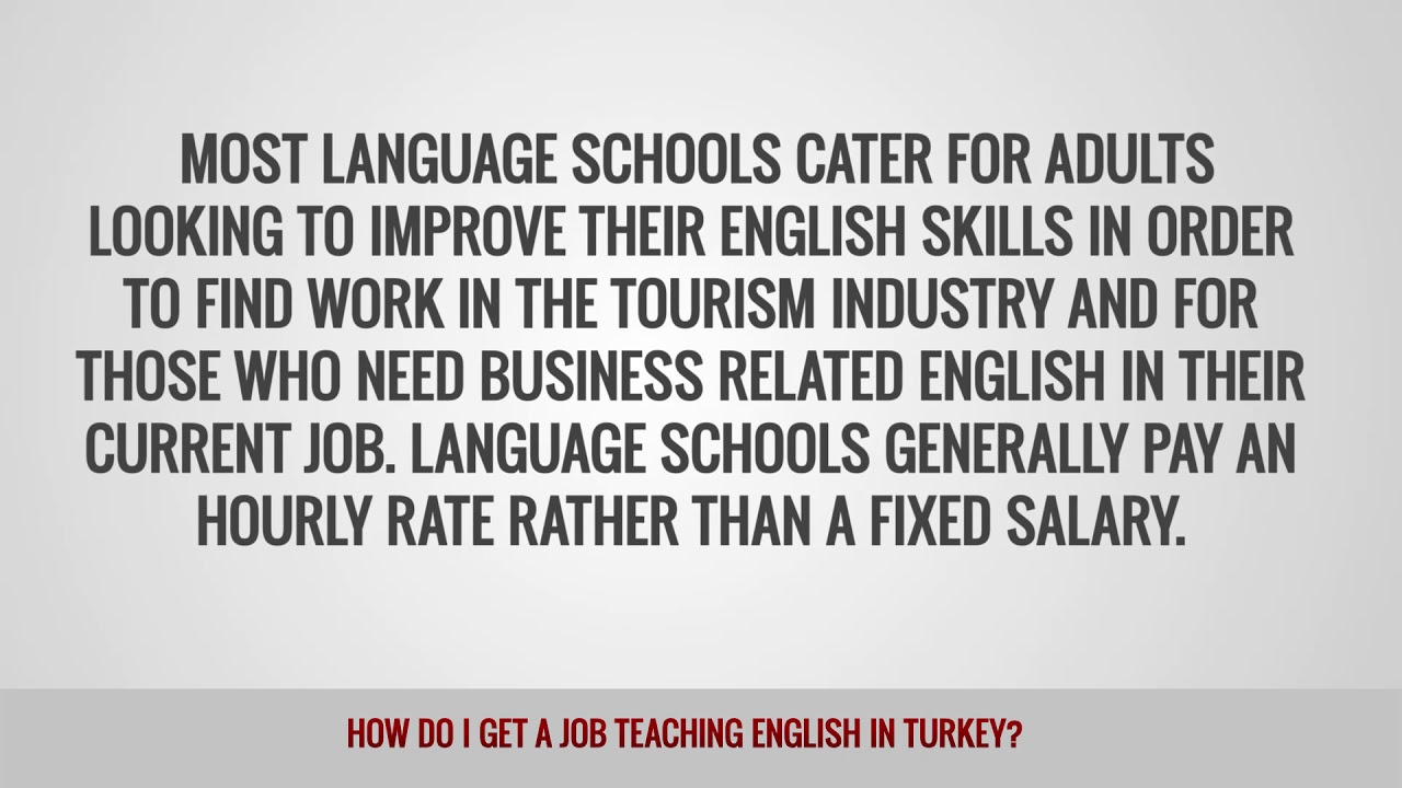 ITTT FAQs – How do I get a job teaching English in Turkey
