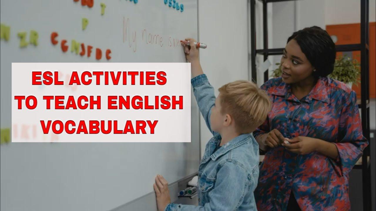 Fun Activities to Teach English Vocabulary: Hot Seat