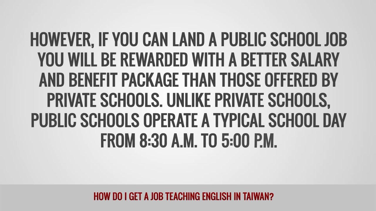 ITTT FAQs – How do I get a job teaching English in Taiwan?