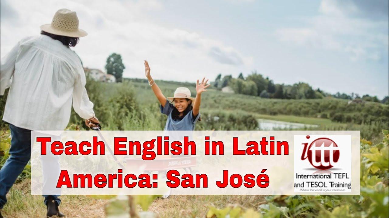 Top 10 Cities for ESL Teaching in Latin America: San José