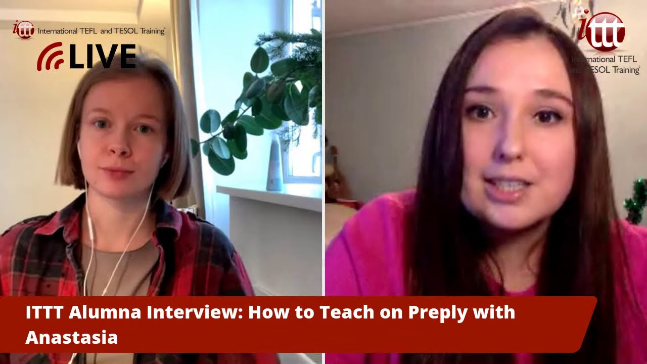 How to Teach English Online on Preply with Anastasia